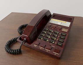 old 3D Telephone P-27