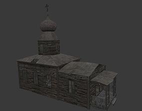 Old Village Chapel 3D