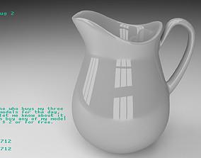 3D model Ceramic jug 2