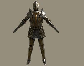 Renaissance Knight 3D model