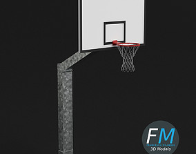 3D Basketball hoop