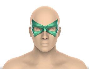 Green Arrow mask 3D printable model