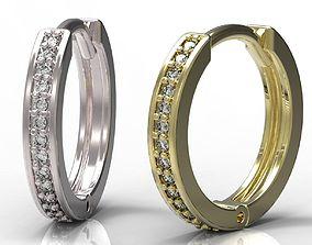 3D printable model sapphire earrings Earrings