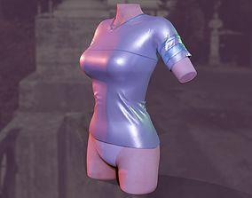 Women T-Shirt Sci-Fi style 3D model