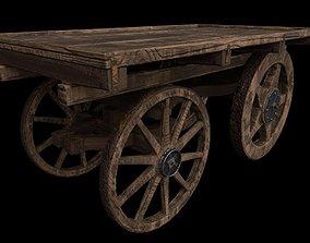 3D asset PBR Hand Cart