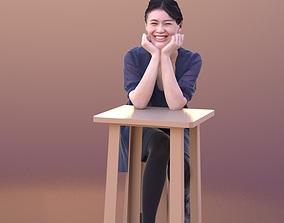 3D asset Francine 10342 - Elegant Girl