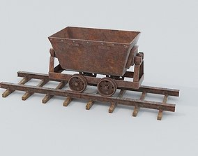 3D model Mine Wagon 6