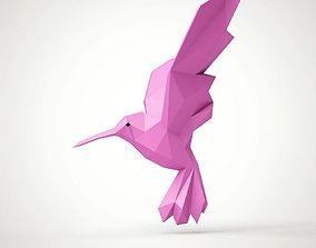 statue Hummingbird 3D printable model