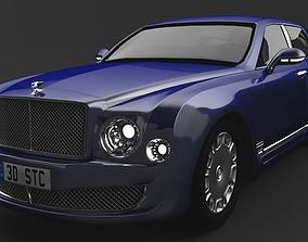 car Bentley Mulsanne 3D model