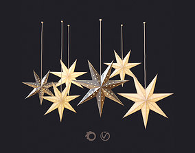 Christmas decor - Swedish stars 3D