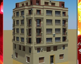 Building metropolitan building 3D model