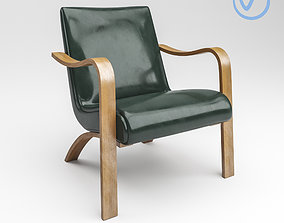 Thonet Bentwood Lounge Chairs wireflow 3D