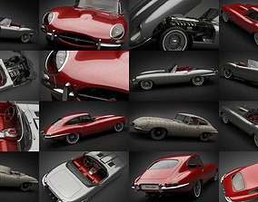 1961-1964 E-Type Jaguars 3D model