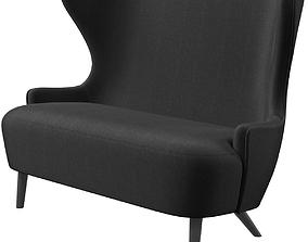 Tomdixon Wingback sofa 3D model
