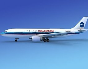3D model Airbus A-300 China Northern