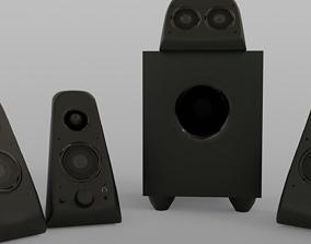 Surrond Sound Set 3D model