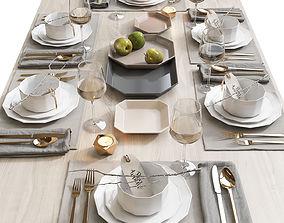 Table setting 5 3D