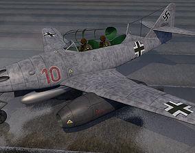 3D Messerschmitt Me-262B-1a Nachtjager
