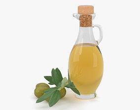plant Olive Oil 3D