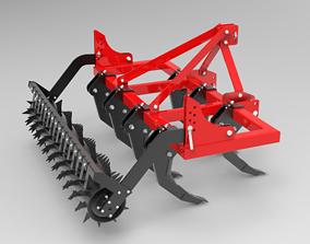 chisel plough 3D