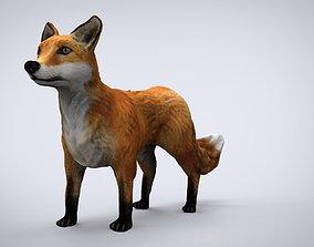 3D model REALISTIC FOX
