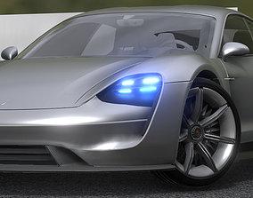 Porsche Taycan 2019 Updated 3D