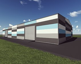 game Warehouse 3D model realtime