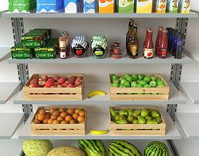 Supermarket Pack Collection 3D model