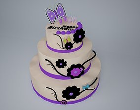 Cake 3d birthday