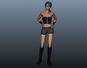 3D asset Betty Female Beauty