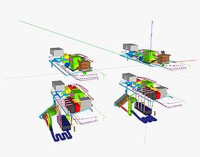 IC 1 gasoline setups 3D print model