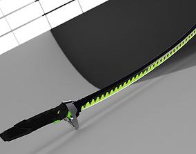 overwatch genji sword 3D print model