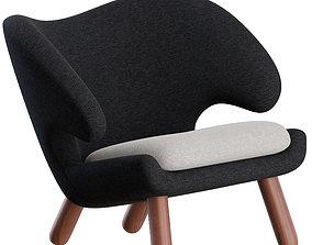 3D model Pelican Chair by Finn Juhl