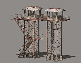 3D model Watch Towers