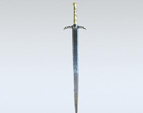 3D model Sword sharp