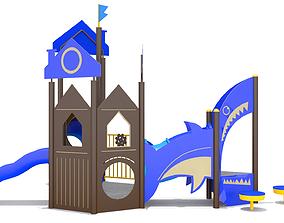 Playground - Mini Shark Ship 3D model