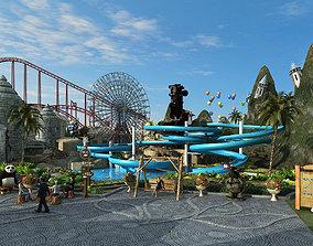Amusement Park-3D model