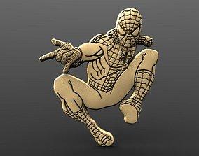 Spider man Bas relief 3D print model