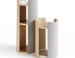 MODERN LARGE CAT SCRATCHING TOWER TORRE 3D