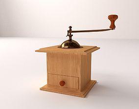 Antique Coffee Grinder 3D