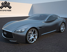 3D model Infiniti Essence luxury