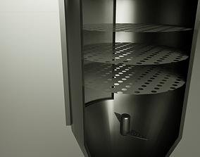 batch percolator - animated 3D model