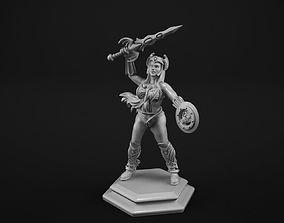 3D print model Warrior princess