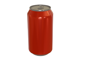 3D PBR Soda can