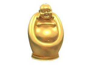 statuette 3D printable model Maitreya