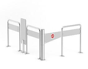 3D Market Exit Gate
