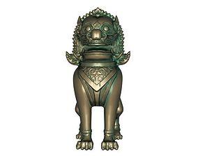 3D print model Temple beast