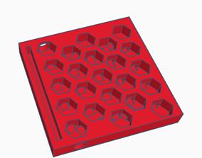 3D print model Hive style Formicarium