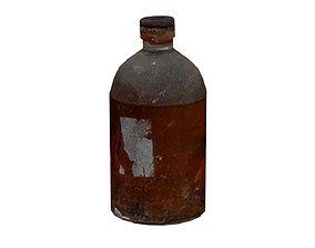3D model Old Drugs Bottle 01 03