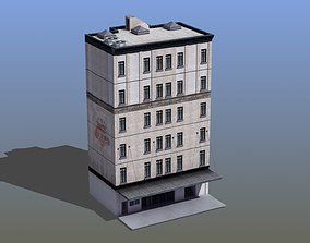 Loft Apartment Building 3D model
